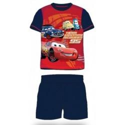 Pyjama Court 2 pièces Cars bleu du 2 au 6 ans GARCON VETEMENT SOUS LICENCE OFFICIELLE DISNEY NEUF