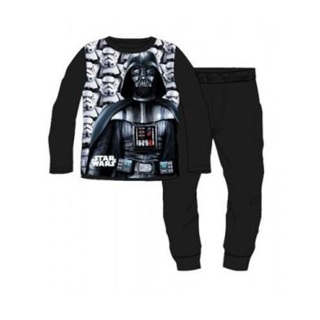 6a4cf256ecab5 Ensemble Pyjama polaire Star Wars noir du 4 au 12 ans ENFANT GARCON VETEMENT  SOUS LICENCE