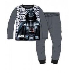 Ensemble Pyjama polaire Star Wars gris du 4 au 12 ans ENFANT GARCON VETEMENT SOUS LICENCE OFFICIELLE DISNEY NEUF