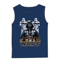 Débardeur Star Wars du 4 au 12 ans bleu licence officielle Disney ENFANT VETEMENT NEUF