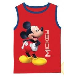 Débardeur Mickey rouge du 2 au 8 ans licence officielle Disney ENFANT VETEMENT NEUF