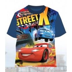 T-Shirt Manches courtes Cars bleu DU 2 AU 8 ANS LICENCE OFFICIELLE DISNEY VETEMENT NEUF