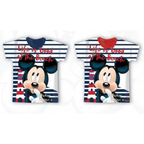 T-Shirt Manches courtes Mickey V02 du 2 au 6 ans licence officielle Disney ENFANT VETEMENT NEUF