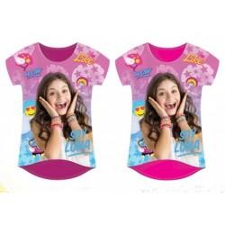 T-Shirt manches courtes Soy Luna du 4 au 12 ans licence officielle Disney VETEMENT NEUF