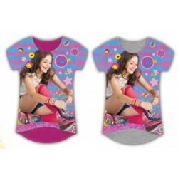 T-Shirt manches courtes Soy Luna V02 du 4 au 12 ans licence officielle Disney VETEMENT NEUF