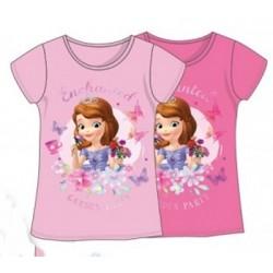T-Shirt manches courtes princesse Sofia du 3 au 8 ans licence officielle Disney VETEMENT NEUF