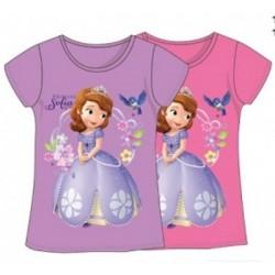 T-Shirt manches courtes princesse Sofia V02 du 3 au 8 ans licence officielle Disney VETEMENT NEUF