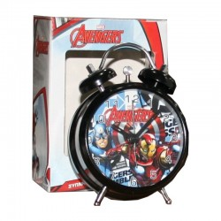 Réveil métal Avengers licence officielle Marvel enfant chambre idée cadeau anniversaire noël neuf