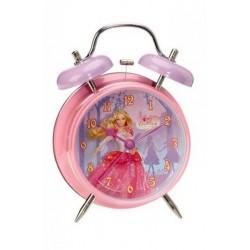 Réveil métal Barbie licence officielle Disney enfant fille chambre idée cadeau anniversaire noel neuf