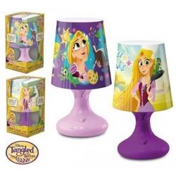 Lampe de chevet Led Princesse Raiponce licence officielle Disney déco chambre enfant idée cadeau anniversaire noel neuve