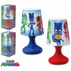 Lampe de chevet Led PJ MASKS licence officielle Disney déco chambre enfant idée cadeau anniversaire noel neuve