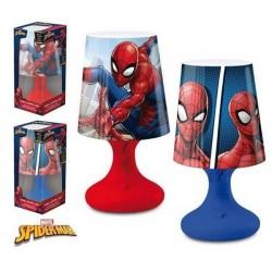 Lampe de chevet Led Spiderman licence officielle Marvel déco chambre enfant idée cadeau anniversaire noel neuve