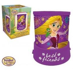 Veilleuse Projecteur princesse Raiponce avec étoiles licence officielle Disney déco chambre idée cadeau anniversaire noel neuve