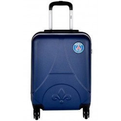 Valise rigide cabine 39 L Paris Saint-Germain en ABS licence officielle PSG Tour Eiffel neuve