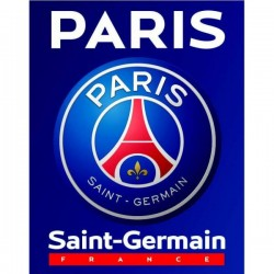Plaid Polaire Paris Saint-Germain licence officiel PSG 140x100 cm v01 football neuf