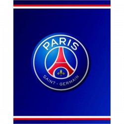 Plaid Polaire Paris Saint-Germain licence officiel PSG 140x100 cm v02 football neuf