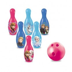 Set de Bowling 6 Quilles REINE DES NEIGES licence officielle Disney jeux jouet plein air enfant neuf