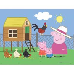 Puzzle 30 pièces PEPPA PIG marque TREFL enfant mixte jeux société idée cadeau anniversaire noel neuf
