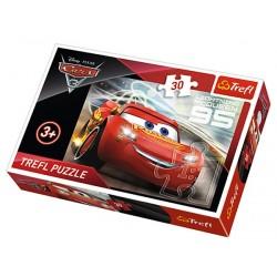 Puzzle 30 pièces Cars licence Disney marque TREFL enfant mixte jeux société idée cadeau anniversaire noel neuf