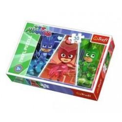 Puzzle 30 pièces PJMasks marque TREFL enfant jeux société idée cadeau anniversaire noel neuf