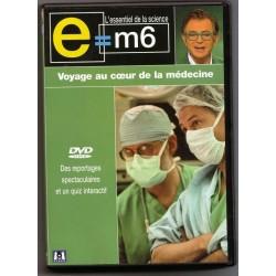DVD E M6 - Voyage au coeur de la médecine - Documentaire Mac Lesggy NEUF