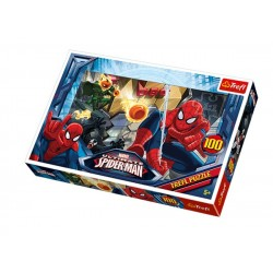 Puzzle 100 pièces Spiderman Marvel marque TREFL jeux jouet idée cadeau anniversaire noel neuf