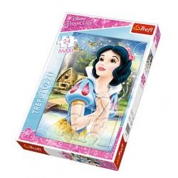 Maxi Puzzle 24 grandes pièces Princesse Disney marque TREFL enfant jeux Idée cadeau anniversaire noel neuf
