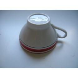 Tasse bolée a cidre ceramique tbe