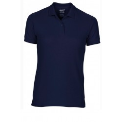 T shirt polo manche courtes femme ou ados MARQUE GILDAN BLEU MARINE du S au XXL vêtement neuf