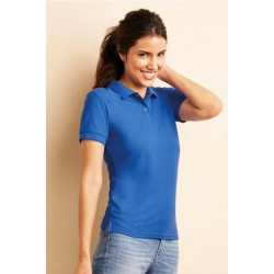 T shirt polo manche courtes femme ou ados MARQUE GILDAN BLEU ROYALE du S au XXL vêtement neuf