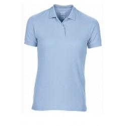 T shirt polo manche courtes femme ou ados MARQUE GILDAN BLEU CIEL du S au XXL vêtement neuf