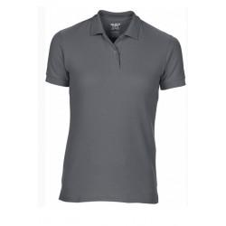 T shirt polo manche courtes femme ou ados MARQUE GILDAN GRIS FONCE du S au XXL vêtement neuf