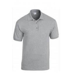 T shirt Polo enfant mixte MARQUE GILDAN GRIS du 5/6 au 12/14 ans vêtement neuf