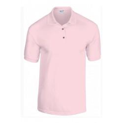 T shirt Polo homme ou ados MARQUE GILDAN ROSE du S au XXL vêtement neuf