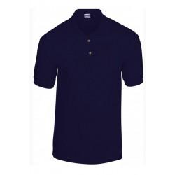 T shirt Polo homme ou ados MARQUE GILDAN BLEU MARINE du S au XXL vêtement neuf