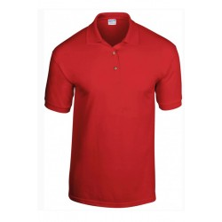 T shirt Polo homme ou ados MARQUE GILDAN ROUGE du S au XXL vêtement neuf