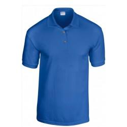 T shirt Polo homme ou ados MARQUE GILDAN BLEU ROYALE du S au XXL vêtement neuf