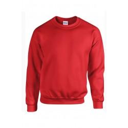 SWEAT SHIRT enfant mixte MARQUE GILDAN Rouge du 5/6 au 12/14 ans vêtement neuf