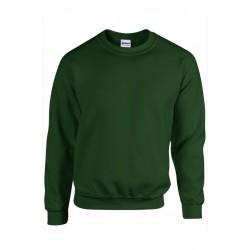 SWEAT SHIRT enfant mixte MARQUE GILDAN vert foncé du 5/6 au 12/14 ans vêtement neuf