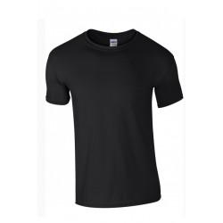 T shirt manches courtes garcon MARQUE GILDAN noir du 3/4 au 12/14 ans vêtement enfant neuf