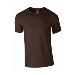 T shirt manches courtes garcon MARQUE GILDAN marron du 3/4 au 12/14 ans vêtement enfant neuf