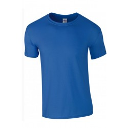T shirt manches courtes garcon MARQUE GILDAN bleu Royale du 3/4 au 12/14 ans vêtement enfant neuf