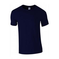 T shirt manches courtes homme ou ados MARQUE GILDAN bleu marine du S au XXL vêtement neuf