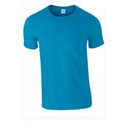 T shirt manches courtes homme ou ados MARQUE GILDAN bleu Antique du S au XXL vêtement neuf