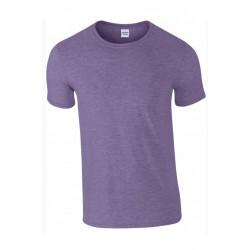 T shirt manches courtes homme ou ados MARQUE GILDAN violet du S au XXL vêtement neuf