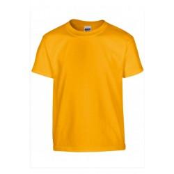 T shirt manches courtes fille MARQUE GILDAN orange du 3/4 au 12/14 ans vêtement enfant neuf
