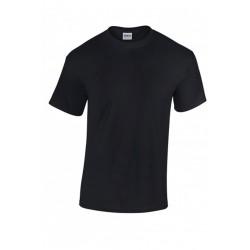 T shirt manches courtes homme ou ados MARQUE GILDAN noir du S au XXL vêtement neuf