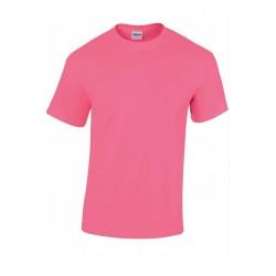 T shirt manches courtes homme ou ados MARQUE GILDAN rose du S au XXL vêtement neuf