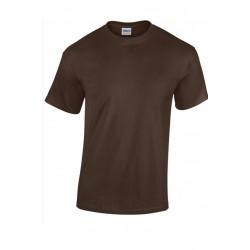 T shirt manches courtes homme ou ados MARQUE GILDAN Chocolat du S au XXL vêtement neuf