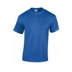 T shirt manches courtes homme ou ados MARQUE GILDAN bleu Royale du S au XXL vêtement neuf